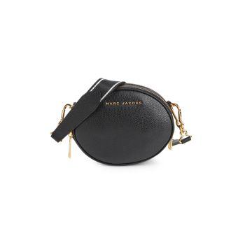 Овальная кожаная сумка через плечо Rewind Marc Jacobs