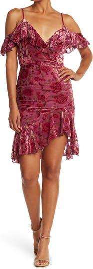 Бархатное платье Isla Lucy Paris