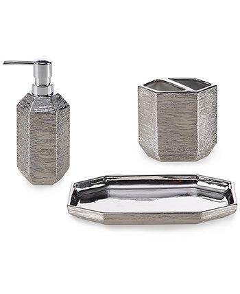 Angelica 3-Pc. Bath Accessories Set with Gift Box Décor Studio