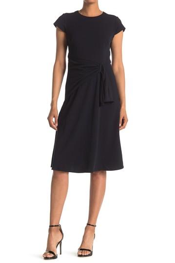 Миди-платье Fit & Flare со сборками и сборками Donna Morgan