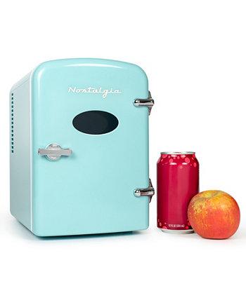 Персональный холодильник Retro на 6 банок RF6RRAQ Nostalgia