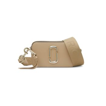 Кожаная сумка для фотоаппарата Snapshot DTM с покрытием Marc Jacobs
