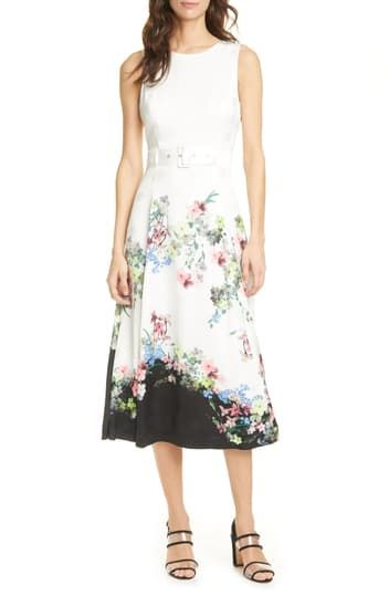 Платье миди с принтом Camylle Ted Baker
