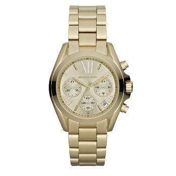 Часы Bradshaw Goldtone из нержавеющей стали с хронографом Michael Kors