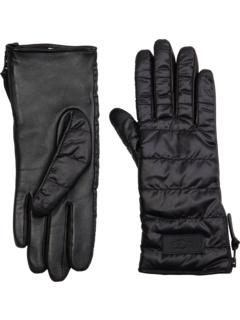 Тканевые перчатки на молнии UGG