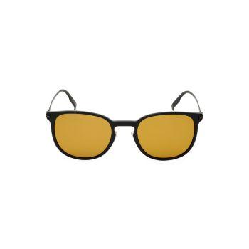 Поляризованные солнцезащитные очки в квадратной оправе 54 мм Zegna