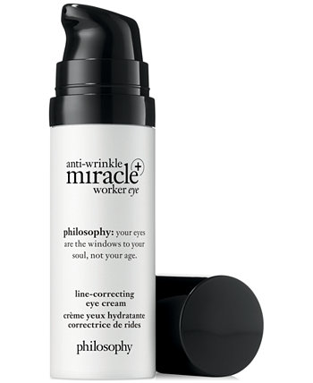 Miracle Worker против морщин + крем для глаз, корректирующий морщины, 0,5 унции. Philosophy