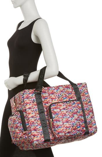 Нейлоновая спортивная сумка выходного дня Pack-It Betsey Johnson
