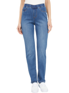 Джинсовые узкие джеггинсы без застежки Renew в цвете индиго FDJ French Dressing Jeans