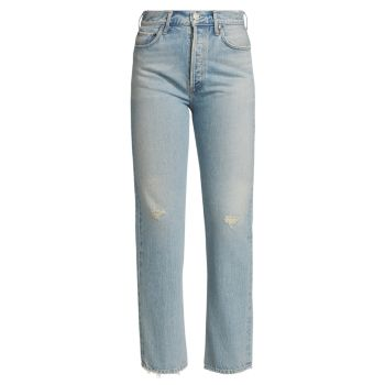 Прямые джинсы 90-х годов Flashback с завышенной талией AGOLDE