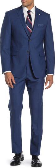 Облегающий костюм из двух частей Nested Blue из акульей кожи Original Penguin