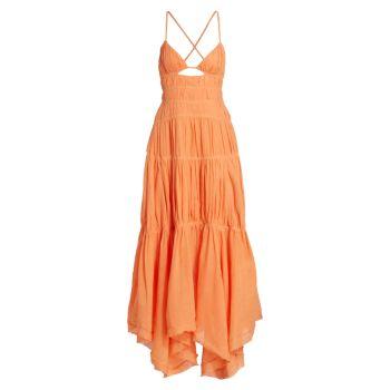 Платье Winnie Gauze Jonathan Simkhai