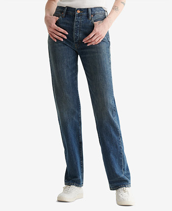 Женские джинсы 90-х с высокой посадкой Lucky Brand