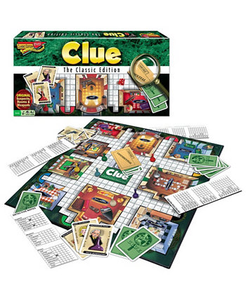 Clue Classic Edition Winning Moves