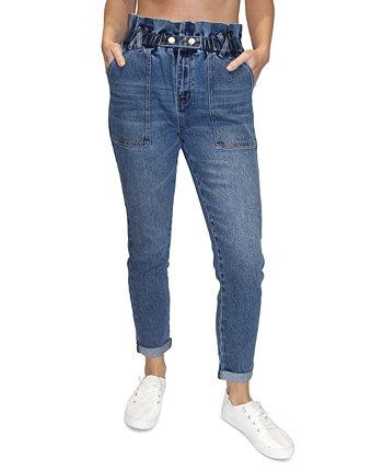 Джинсы-скинни с бумажным мешком и сверхвысокой посадкой для юниоров Almost Famous