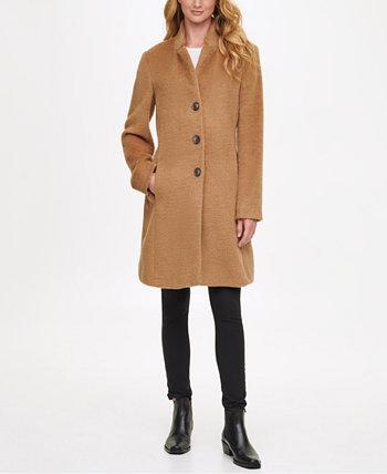 Однобортное пальто Walker, созданное для Macy's DKNY