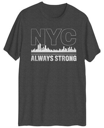 Мужская футболка с коротким рукавом NYC Always Strong Hybrid