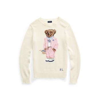 Picnic Polo Bear Sweater Ralph Lauren