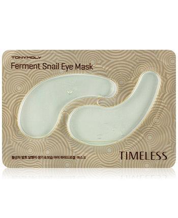 Маска для глаз Timeless Ferment Snail Eye Mask TONYMOLY