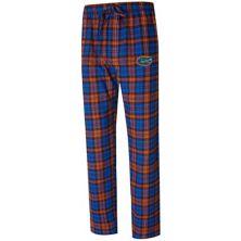 Men's Concepts Sport Royal/Orange Florida Gators Big & Tall Parkway Flannel Pants Unbranded
