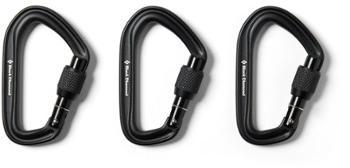 Карабины HotForge с завинчивающейся крышкой - Комплект из 3 шт. Black Diamond