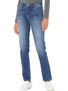 Джинсовые джинсы с перекрестной штриховкой Carter Girlfriend Jag Jeans