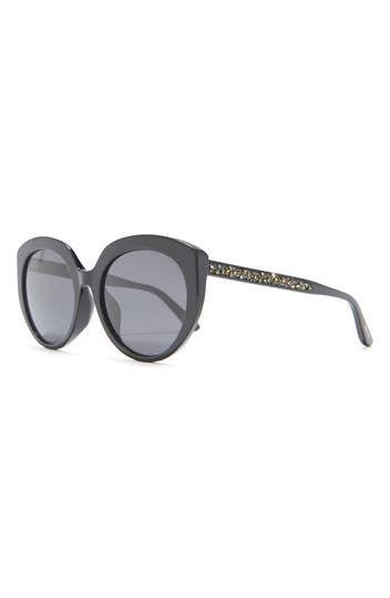 57mm Cat Eye Sunglasses Jimmy Choo