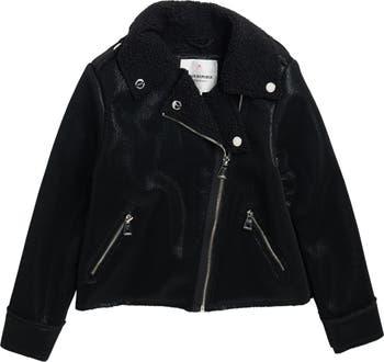 Мотоциклетная куртка с подкладкой из искусственной овчины Urban Republic