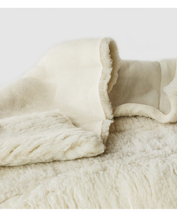 Наматрасник из флиса Natural Child's Happy Lamb, размер детской кроватки Holy Lamb Organics