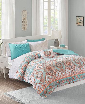 Комплект из 6 одеял и простыней Vinnie Twin XL Intelligent Design JLA Home