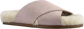 Сандалии-шлепанцы Canna с подкладкой из натуральной овчины Marc Fisher LTD