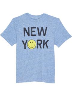 Футболка с круглым вырезом Tri-Blend New York Smile (Big Kids) The Original Retro Brand Kids