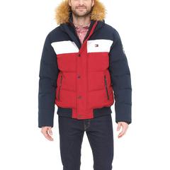 Стеганый бомбер Arctic Cloth Snap Front Snorkel Tommy Hilfiger