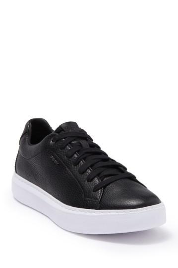 Кожаные кроссовки Deiven Geox