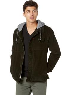 Вельветовая куртка-рубашка с флисовым капюшоном и подкладкой из шерпы Levi's®