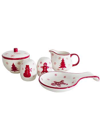 Набор аксессуаров Winterfest из 5 предметов Euro Ceramica