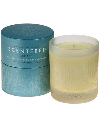 Escape Home Aromatherapy Candle, 7,8 унций Scentered
