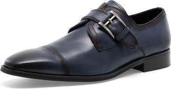Классические туфли McNeil с одинарными ремешками-монахами J75 By Jump