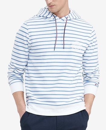 Men's Big & Tall Summer Stripe Hoodie Tommy Hilfiger