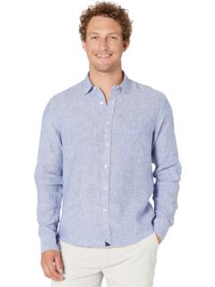 Рубашка Vin Santo из устойчивого к морщинам льна UNTUCKit