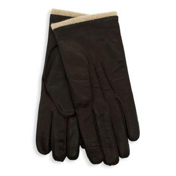 Перфорированные кожаные перчатки Portolano