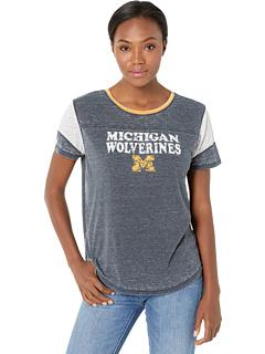 Мичиганская футболка росомахи Fade Out '47 College