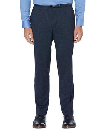 Мужские приталенные классические брюки стрейч Perry Ellis Portfolio
