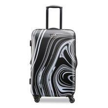 Жесткий чемодан-спиннер с принтом American Tourister Burst Max American Tourister