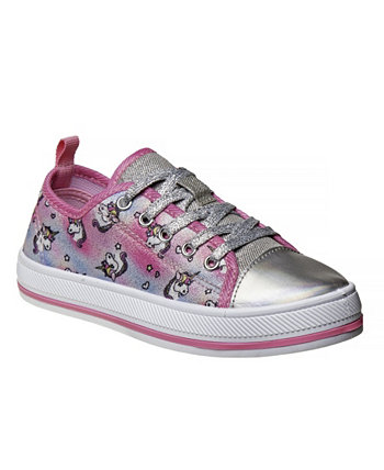 Кроссовки Little Girls Pink Unicorn из плотной ткани Kensie Girl