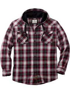 Фланелевая рубашка с капюшоном Big & Tall Backwoods Legendary Whitetails