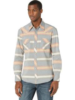 Рубашка с длинными рукавами Vintage 46 Serape в полоску на кнопках B2S8112 Rock and Roll Cowboy