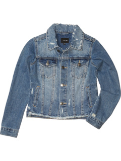 Разрушенная джинсовая куртка (Big Kids) Joe's Jeans Kids