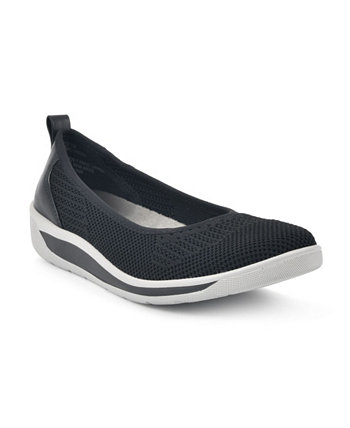 Women's Chrissy Comfort Flats Cliffs by White Mountain
