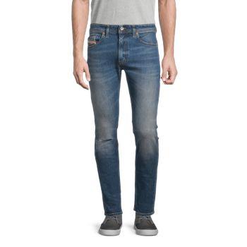 Thommer Distressed Slim Skinny Jeans Diesel
